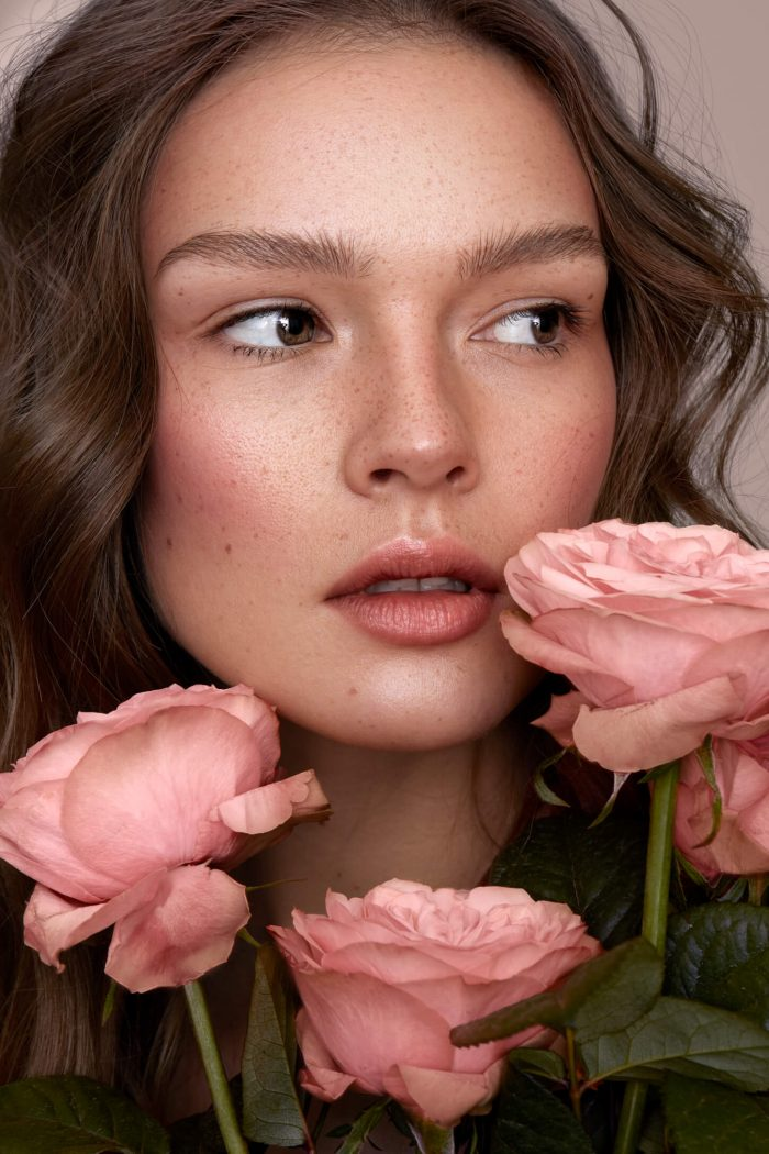 Beauty and roses by Tamara Williams